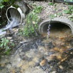 Culverts in action July23, 2010